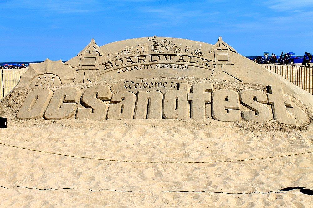 Sand Sculpture at OC Sandfest
