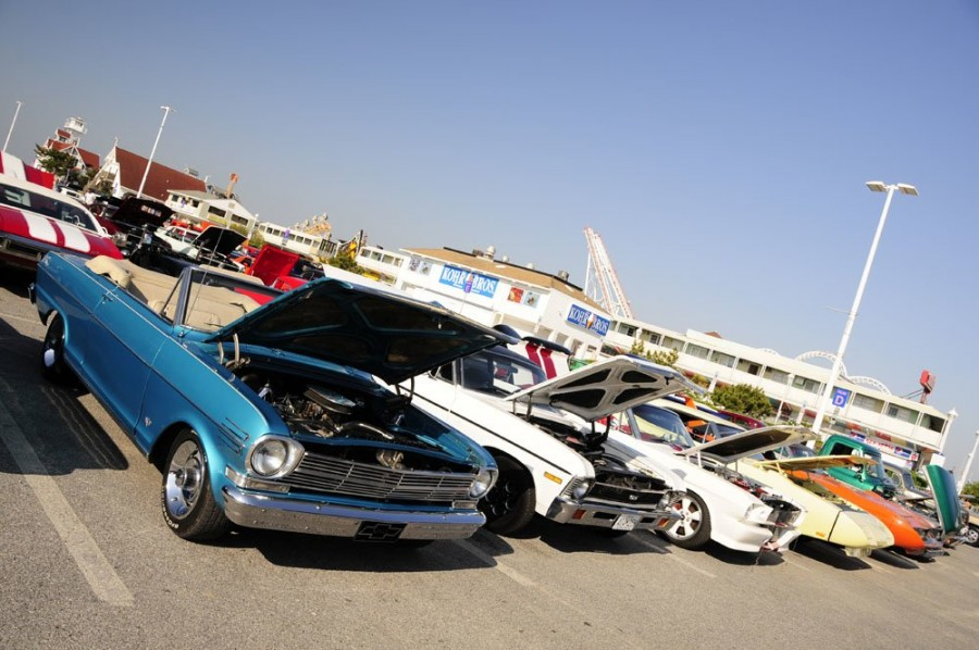 H Car Show Ocean City Md
